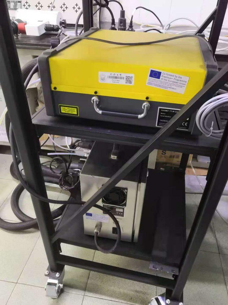 Equipment at Tongji