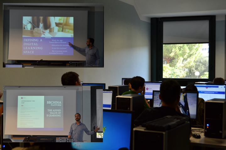 e-learning and new teaching methodologies training during Staff mobility at UNIFI